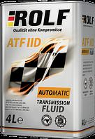 Трансмиссионное масло для АКПП и ГУР ROLF ATF IID 4L