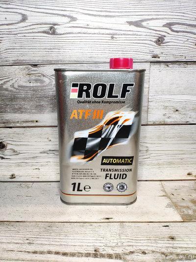 Трансмиссионное масло в АКПП и ГУР ROLF ATF III 1L