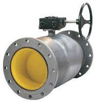Кран шаровый стальной приварной с редукторным приводом Ду350