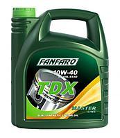 Масло моторное FANFARO TDX 10W40 4 литра