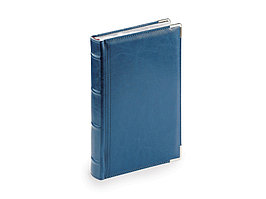Ежедневник А5 полудатированный Boss, синий (артикул 3-404.269)