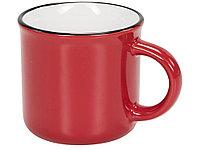 Керамическая походная кружка, красный, фото 1