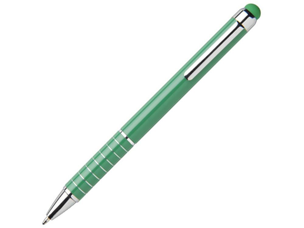 Алюминиевая глазурованная шариковая ручка, зеленый