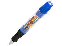 Королевская шариковая ручка со светодиодами и скрепками, синий, фото 1