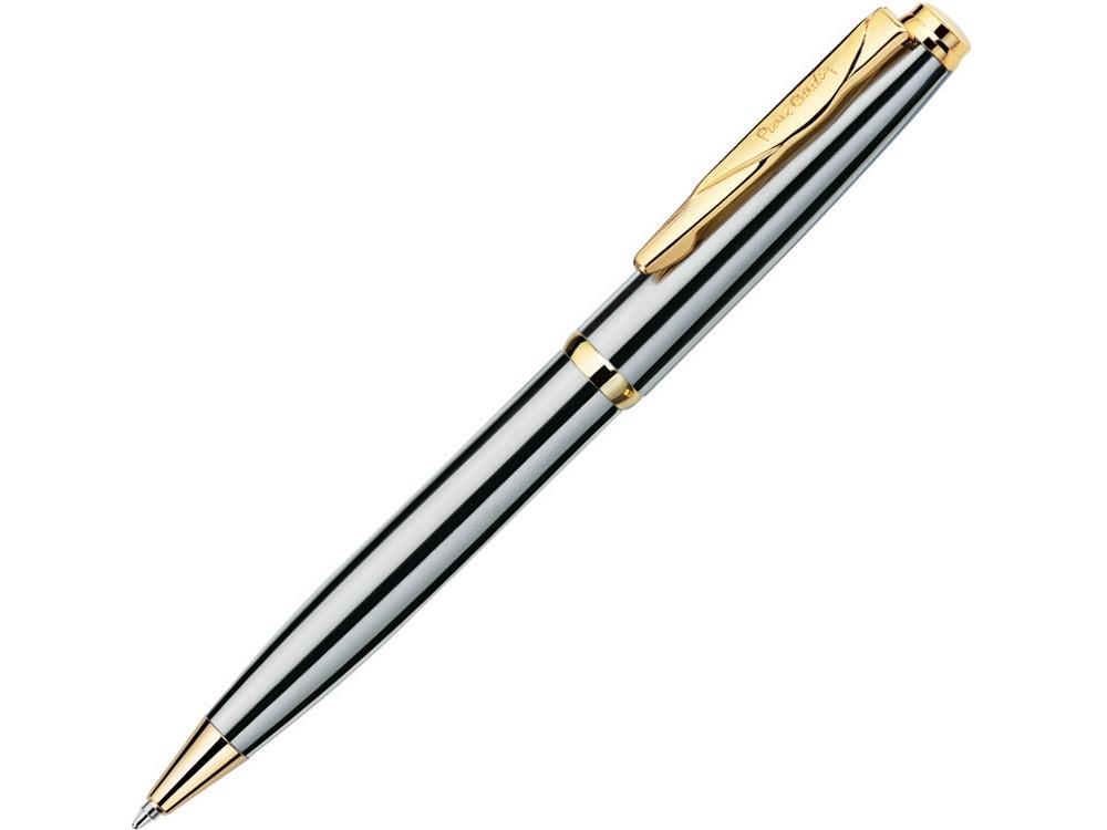 Ручка шариковая Gamme. Pierre Cardin, стальной/золотистый