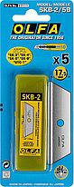 Лезвие OLFA трапециевидное для SK-4, 17,5х72х0,6мм, 5шт , фото 2