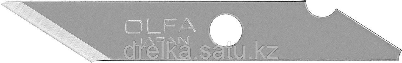 Лезвие OLFA перовое для AK-1, 11х6х0,45мм, 25шт