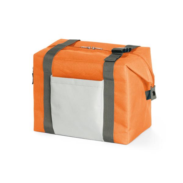 Термосумка | 2 разных способа использования | Оранжевая