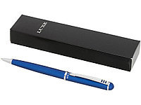 Ручка металлическая шариковая, синий, фото 1