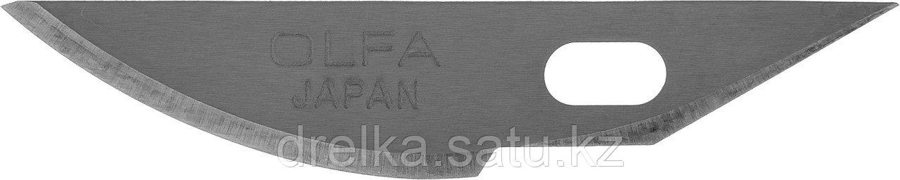Лезвия OLFA закругленные для ножа AK-4, 6(8)х38х0,45мм, 5шт
