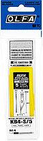 Лезвия OLFA перовые для ножа AK-4, 6(8)х40,5х0,5мм, 5шт, фото 2