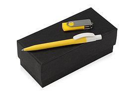 Подарочный набор Uma Memory с ручкой и флешкой, желтый (артикул 700337.04)