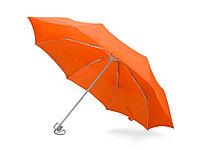 Зонт складной Tempe, механический, 3 сложения, с чехлом, оранжевый, фото 1