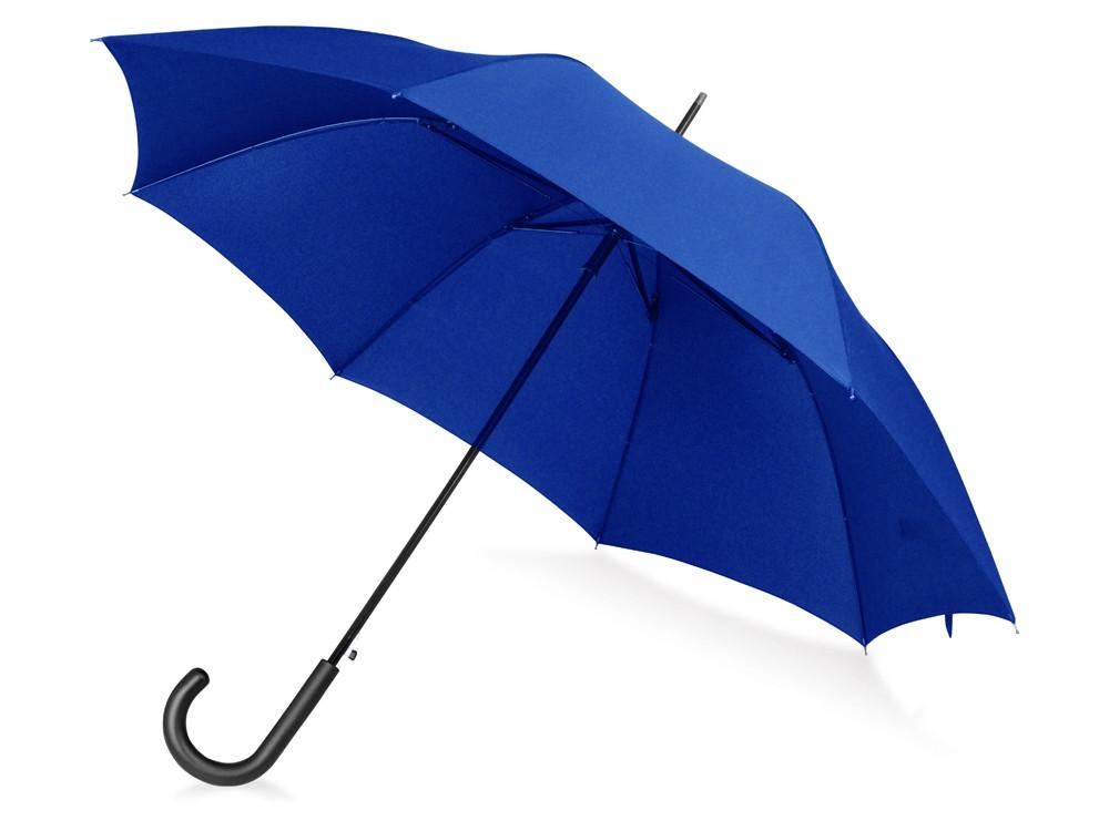 Зонт-трость Wind, полуавтомат, темно-синий