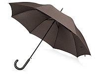 Зонт-трость Wind, полуавтомат, коричневый, фото 1