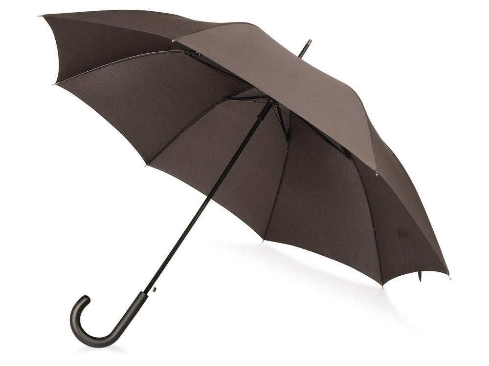 Зонт-трость Wind, полуавтомат, коричневый