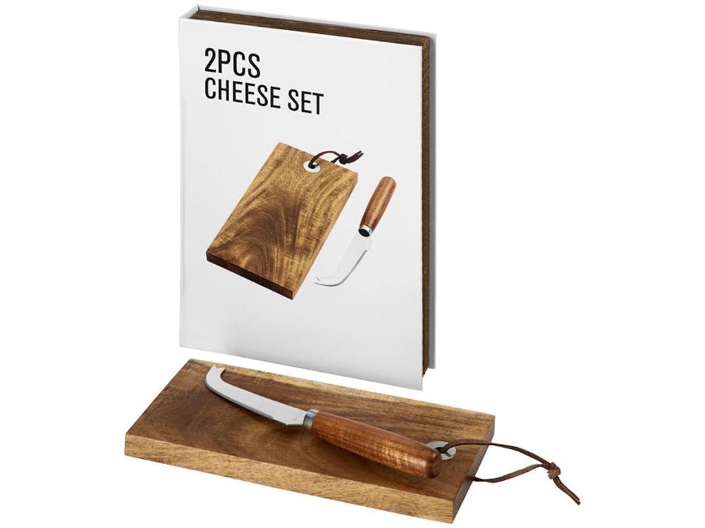 Подарочный набор для сыра Nantes из 2 предметов, дерево