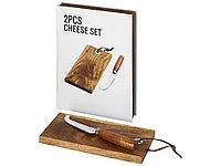 Подарочный набор для сыра Nantes из 2 предметов, дерево, фото 1