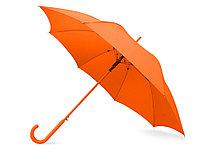 Зонт-трость Color полуавтомат, оранжевый, фото 1