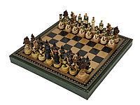 Шахматы Бородино, черный/зеленый, фото 1