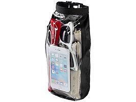 Туристическая водонепроницаемая сумка объемом 2 л, чехол для телефона, черный (артикул 10055300)
