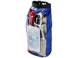 Туристическая водонепроницаемая сумка объемом 2 л, чехол для телефона, ярко-синий (артикул 10055301)