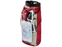 Туристическая водонепроницаемая сумка объемом 2 л, чехол для телефона, красный (артикул 10055302)