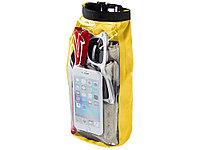 Туристическая водонепроницаемая сумка объемом 2 л, чехол для телефона, желтый (артикул 10055306)