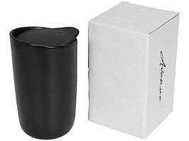 Керамический стакан Mysa с двойными стенками объемом 400 мл, черный (артикул 10055600)