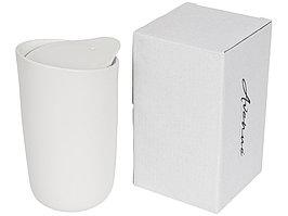 Керамический стакан Mysa с двойными стенками объемом 400 мл, белый (артикул 10055601)