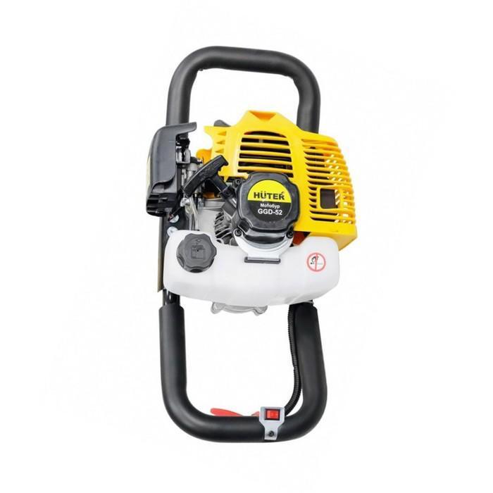 Мотобур бензиновый HUTER GGD-52 без шнека
