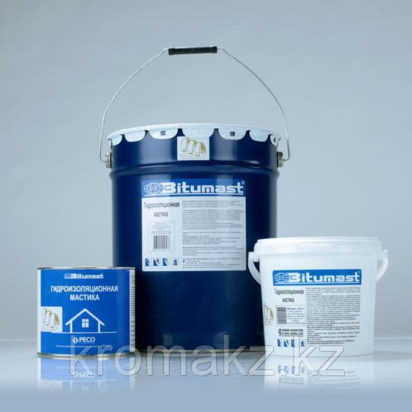Мастика гидроизоляционная Bitumast, 21,5л