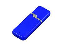 Флешка промо прямоугольной формы c оригинальным колпачком, 16 Гб, синий, фото 1