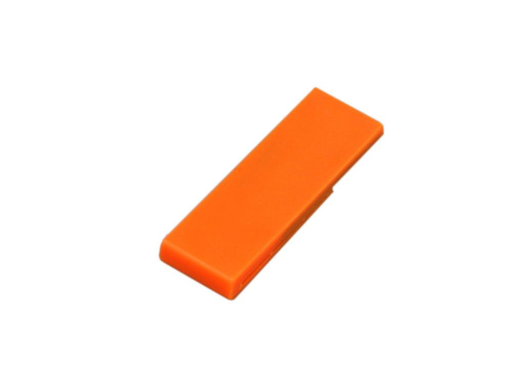 Флешка промо в виде скрепки, 16 Гб, оранжевый (артикул 6012.16.08)