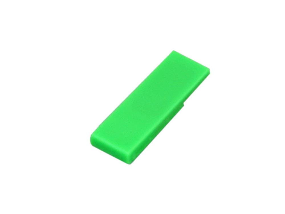 Флешка промо в виде скрепки, 16 Гб, зеленый (артикул 6012.16.03)