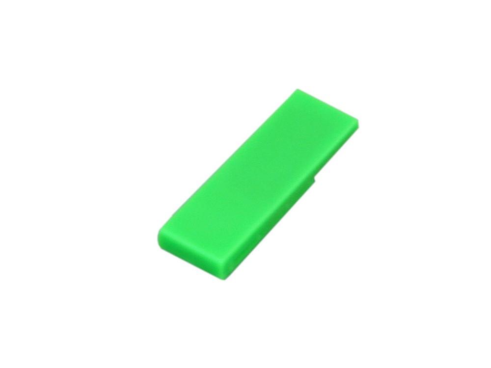 Флешка промо в виде скрепки, 64 Гб, зеленый (артикул 6012.64.03)