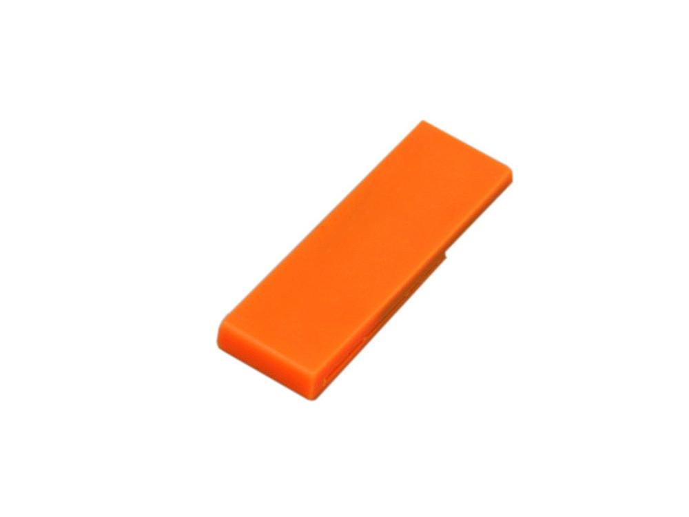 Флешка промо в виде скрепки, 64 Гб, оранжевый (артикул 6012.64.08)