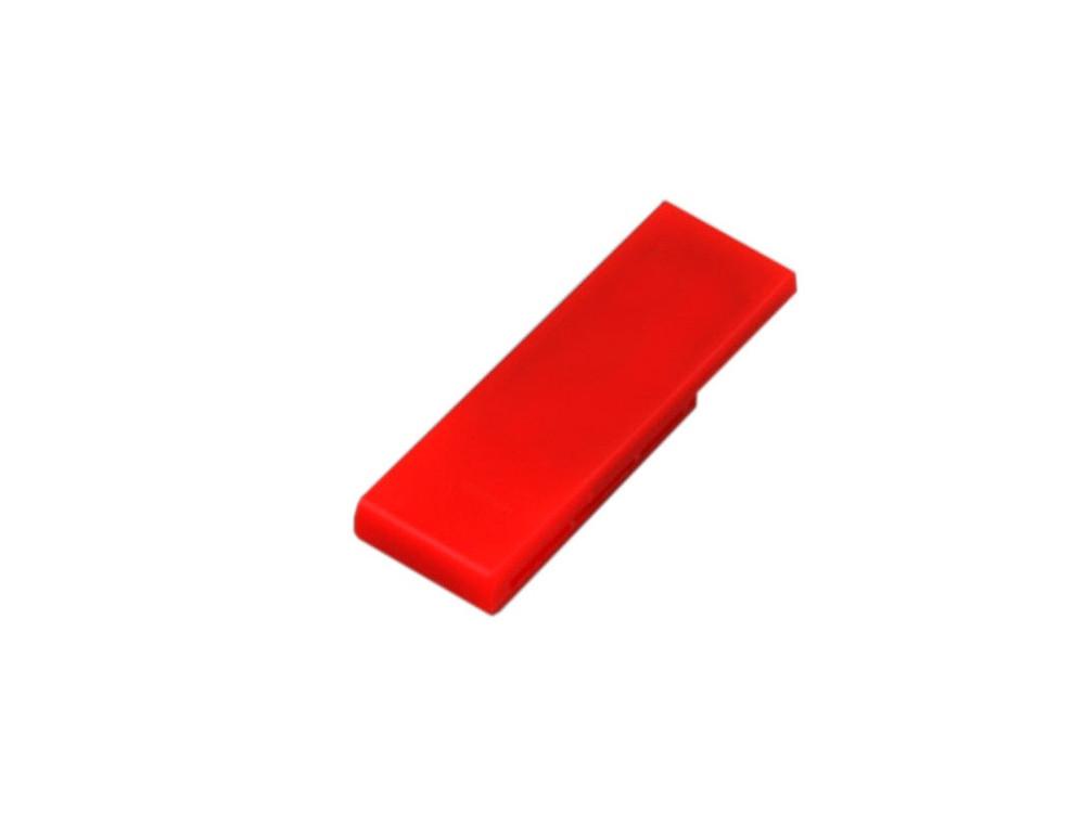 Флешка промо в виде скрепки, 64 Гб, красный (артикул 6012.64.01)