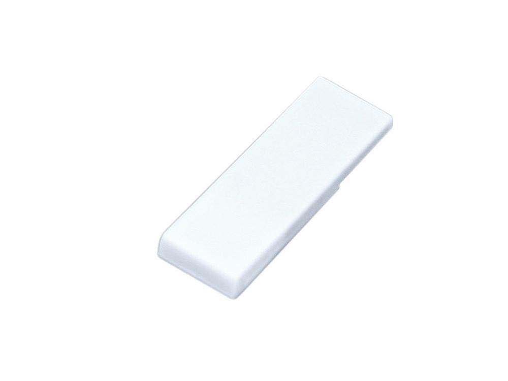 Флешка промо в виде скрепки, 64 Гб, белый (артикул 6012.64.06)