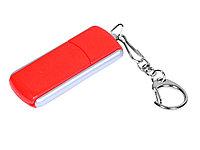 Флешка промо прямоугольной формы, выдвижной механизм, 16 Гб, красный