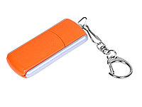 Флешка промо прямоугольной формы, выдвижной механизм, 32 Гб, оранжевый (артикул 6040.32.08)