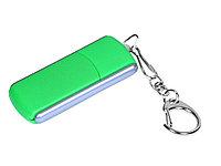 Флешка промо прямоугольной формы, выдвижной механизм, 64 Гб, зеленый (артикул 6040.64.03)