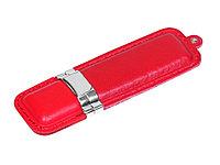 Флешка классической прямоугольной формы, 16 Гб, красный