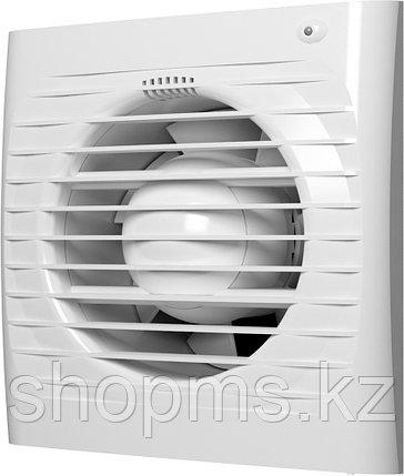 Вентилятор осевой вытяжной ЭРА ERA 5C ET ф125 с обратным клапаном, электр. таймер, фото 2