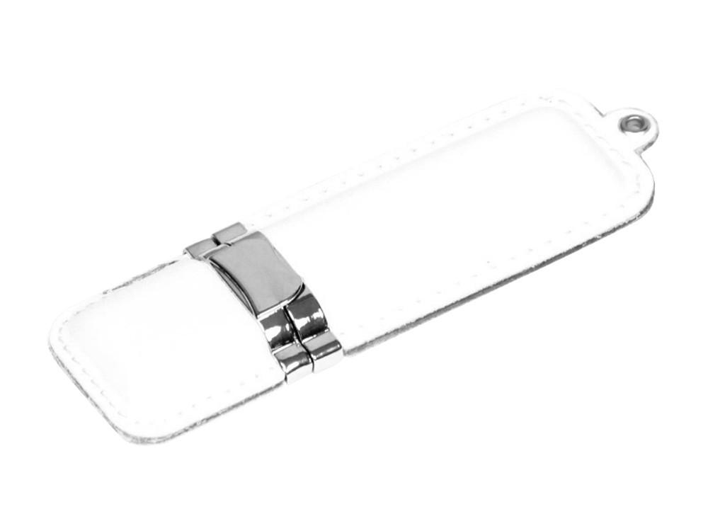 Флешка классической прямоугольной формы, 32 Гб, белый