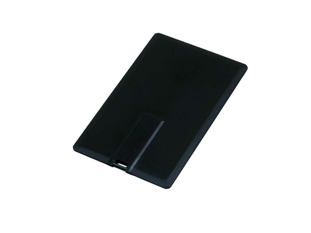Флешка в виде пластиковой карты, 32 Гб, черный