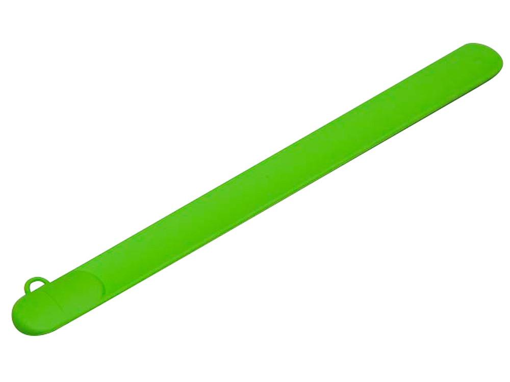 Флешка в виде браслета, 16 Гб, зеленый