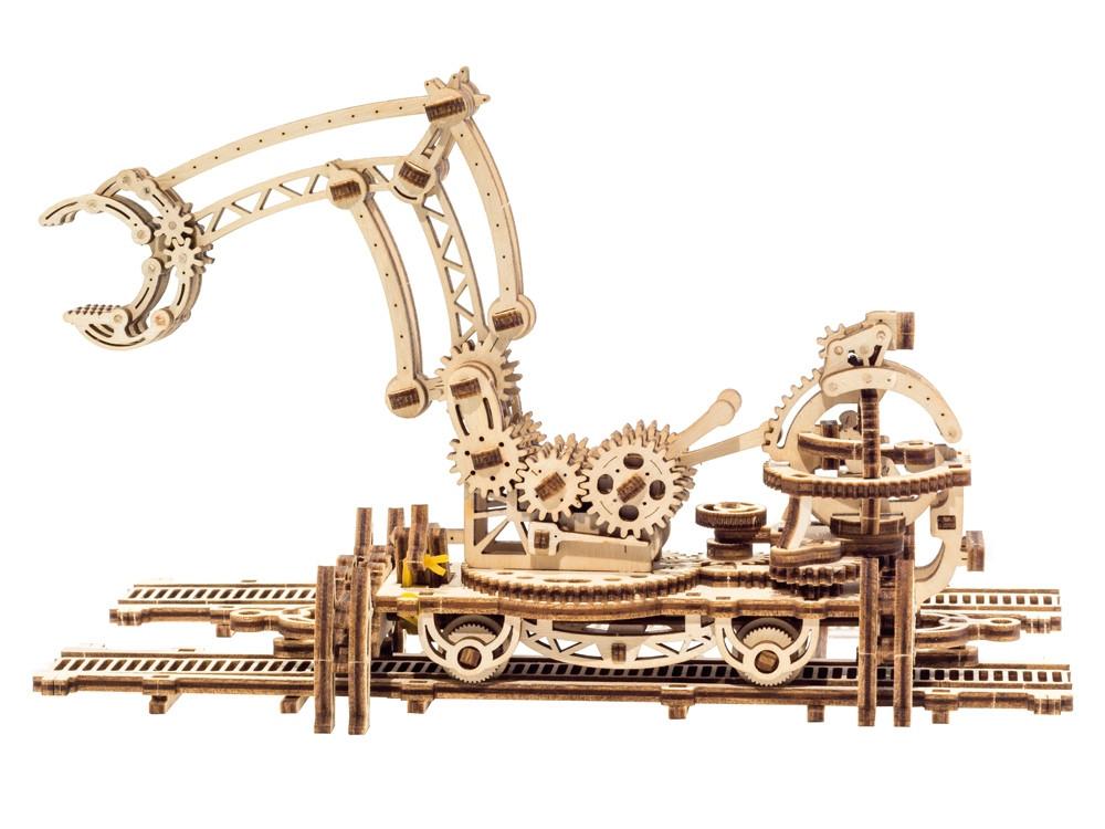 3D-ПАЗЛ UGEARS Манипулятор на рельсах