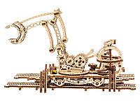 3D-ПАЗЛ UGEARS Манипулятор на рельсах, фото 1