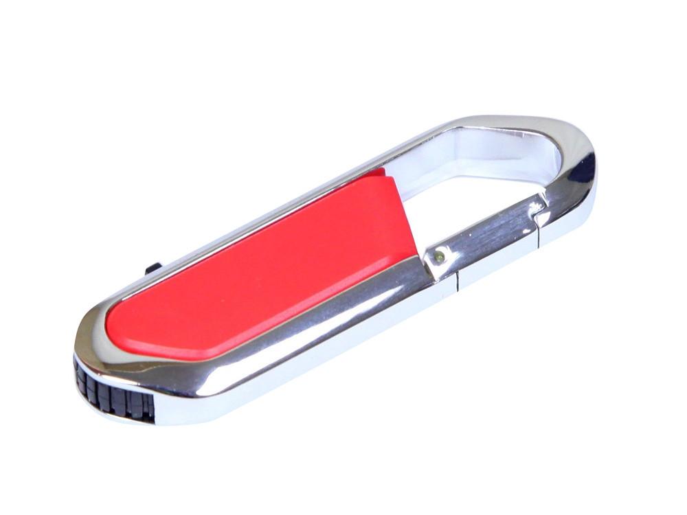 Флешка в виде карабина, 32 Гб, красный/серебристый